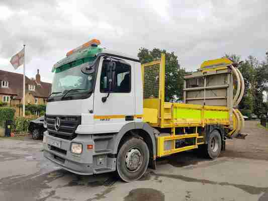 2007 MERCEDES ACTROS 1832  MP2 IMPACT PROTECTION VEHICLE